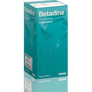 Meda Pharma Betadine collutorio 200ml 1%