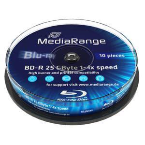 MediaRange BD-R 25 GB 4x (10 pcs cakebox)