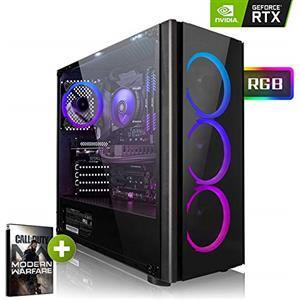 Megaport PC Gaming i5-9600K RTX2070S 480GB SSD Win10