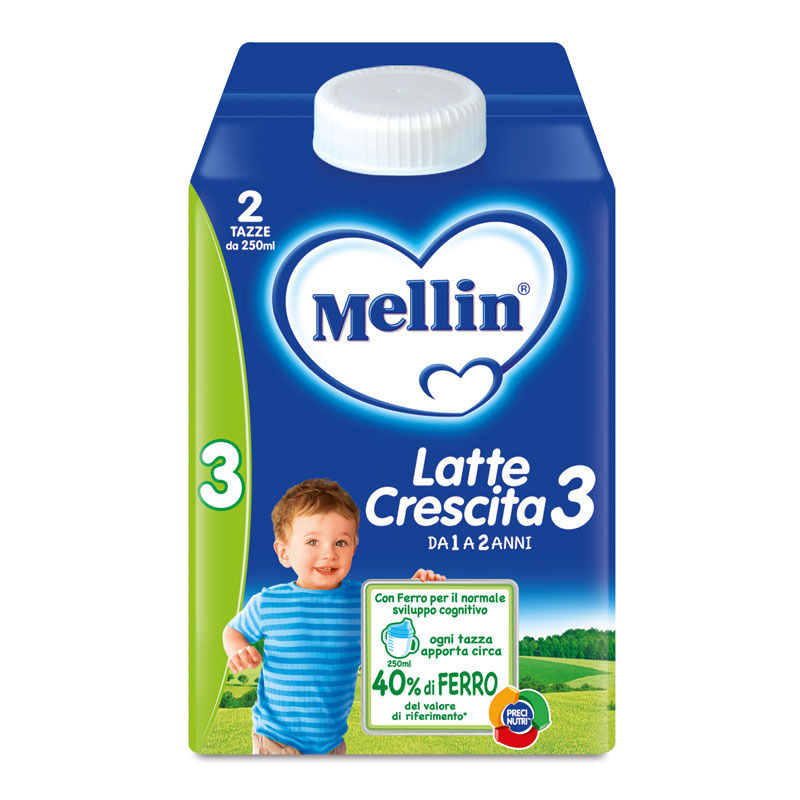 Mellin 3 latte liquido 500ml