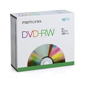 Memorex Professional DVD-R 4,7 GB 4x (10 pcs) box