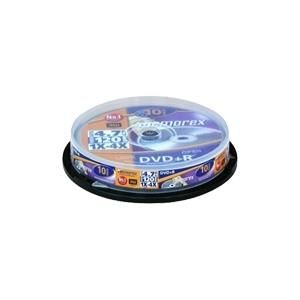Memorex Professional DVD+R 4,7 GB 4x (10 pcs cakebox)
