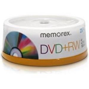 Memorex Professional DVD+R 4,7 GB 4x (25 pcs cakebox)