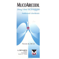 Menarini Mucoaricoil Sciroppo 200ml 600mg