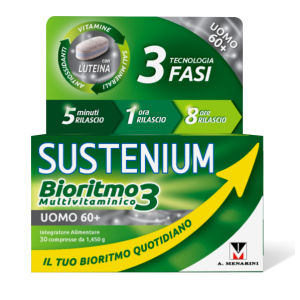 Menarini Sustenium Bioritmo 3 Uomo 60+ 30 compresse