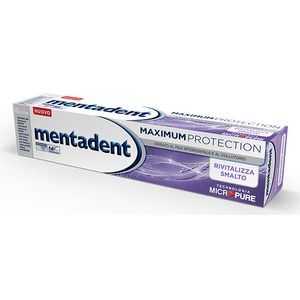 Mentadent Dentifricio Maximum Protection Rivitalizza Smalto
