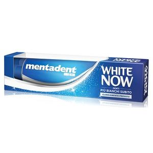 Mentadent Dentifricio White Now