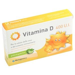Metagenics VitaminaD 400 U.I. 84compresse
