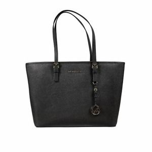 Michael Kors Jet Set Travel Saffiano Top-Zip
