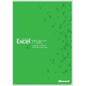 Microsoft Excel 2011 for Mac (GOV)