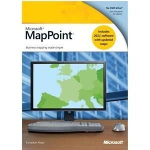 Microsoft MapPoint 2011 European maps