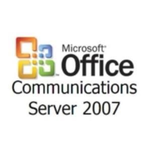 Microsoft Office Communications Server 2007 R2 Standard Edition