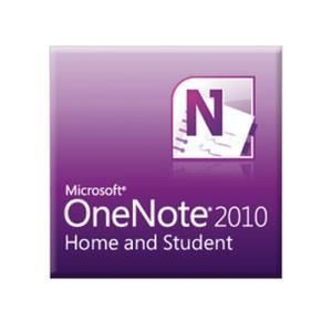 Microsoft OneNote 2010 Home and Student