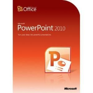 Microsoft PowerPoint 2010 Home and Student