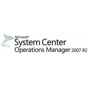 Microsoft System Center Operations Manager 2007 R2 Standard Operations Management License