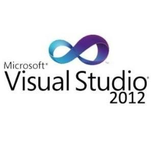 Microsoft Visual Studio Professional 2012 with MSDN