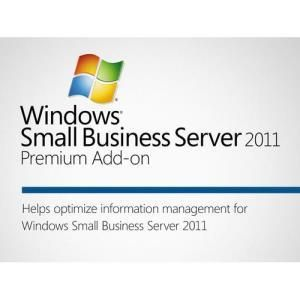 Microsoft Windows Small Business Server 2011 Premium Add-on (EDU)