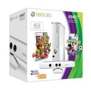 Microsoft Xbox 360 Special Edition 4 GB Kinect Family Bundle