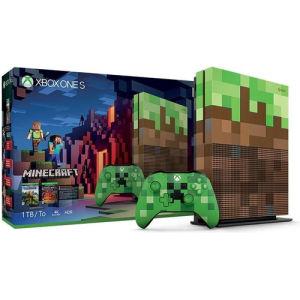 Microsoft Xbox One S 1TB Minecraft Limited Edition