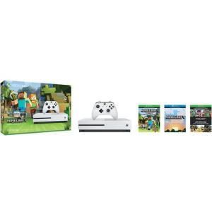 Microsoft Xbox One S (500GB) Minecraft Favourites Bundle