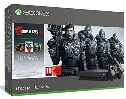 Microsoft Xbox One X 1TB + Gears of War 5