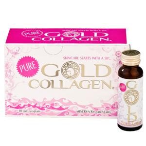 Minerva Research Labs Pure Gold Collagen 3flaconi
