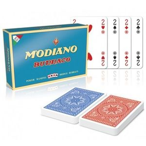 Modiano Burraco 3 mazzi 162 carte
