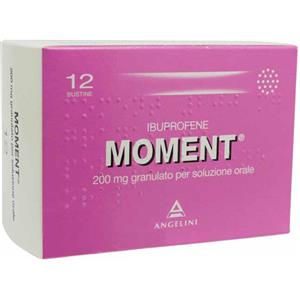 Angelini Moment 12 bustine 200mg