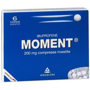 Angelini Moment 6 compresse rivestite 200mg