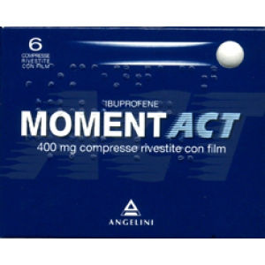 Angelini Momentact 6compresse rivestite 400mg