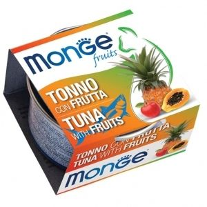 Monge Natural Superpremium Fruits Tonno con Frutta per gatto - umido