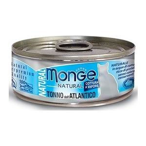 Monge Natural Superpremium Gatto Tonno dell'Atlantico - umido