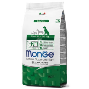 Monge Natural Superpremium Maxi Adult Cani (Pollo)