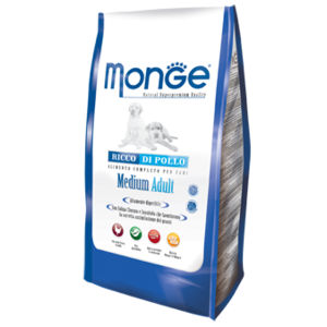 Monge Natural Superpremium MEDIUM Adult 15Kg per cani