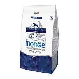 Monge Natural Superpremium Medium Adult (Pollo) - secco 12Kg