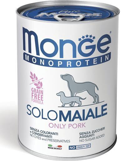 Monge Natural Superpremium Monoproteico Cane solo Maiale - umido