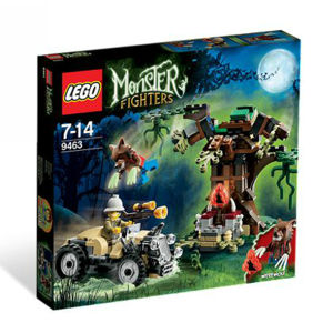 Lego Monster Fighters 9463 Il lupo mannaro