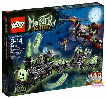 Lego Monster Fighters 9467 Il treno fantasma