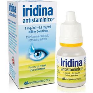 Montefarmaco Iridina antistaminico collirio 10+8mg