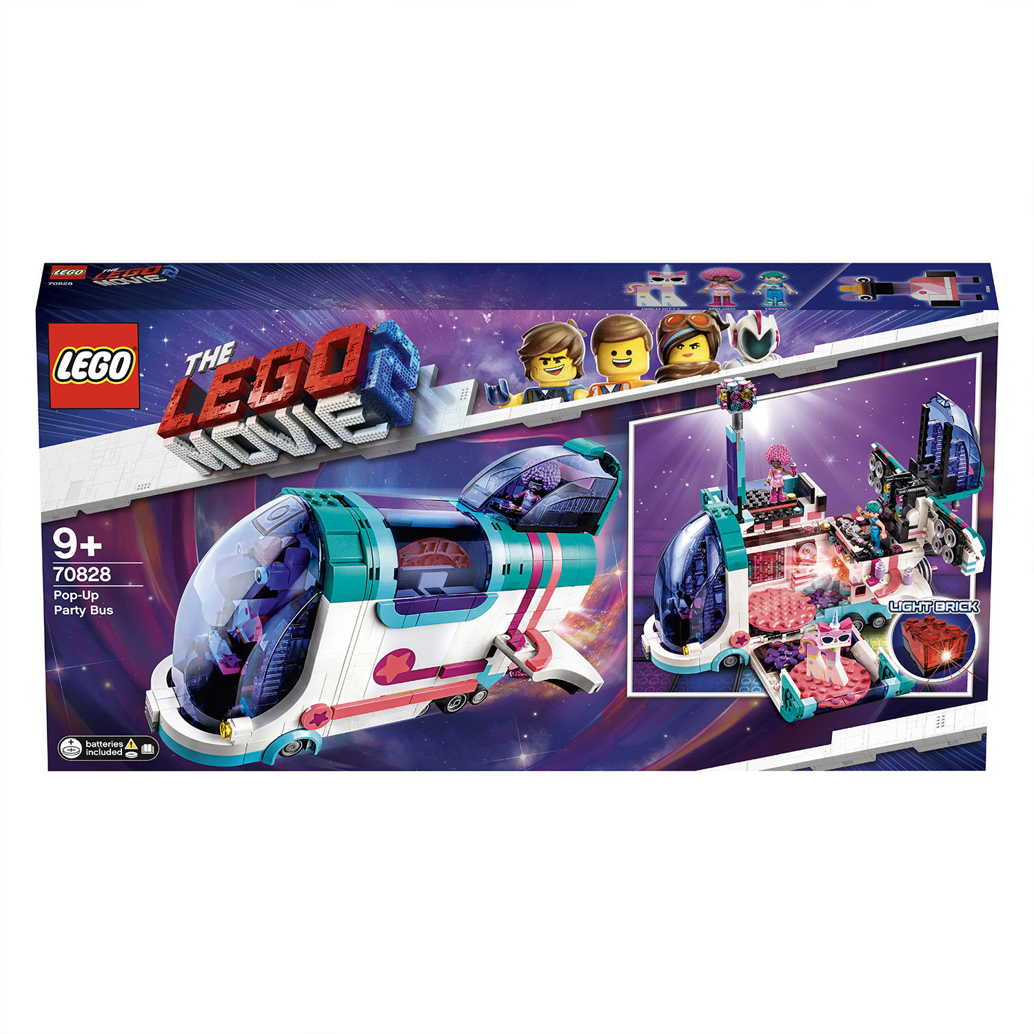 Lego Movie 2 70828 Il party bus Pop-Up