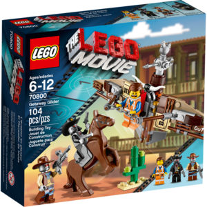 Lego Movie 70800 Fuga sull'aliante