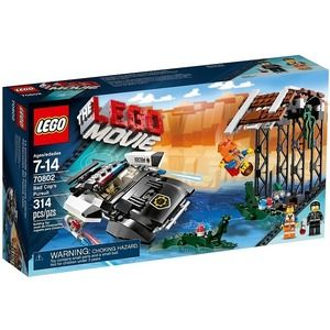 Lego Movie 70802 L'inseguimento di Poli Duro