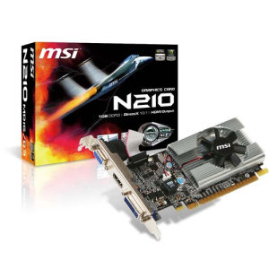 MSI GeForce 210 1GB (N210-MD1G/D3)