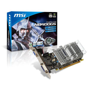 MSI GeForce 8400GS 1GB (N8400GS-D1GD3H/LP)