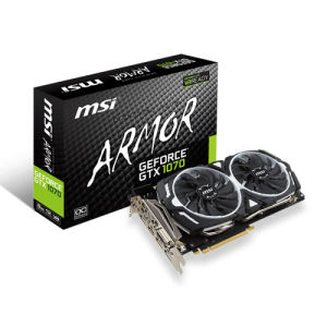 Msi geforce gtx1070 armor oc 8gb
