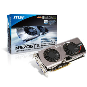 MSI GeForce GTX570 1.25GB (N570GTX Twin Frozr III Power Edition/OC)