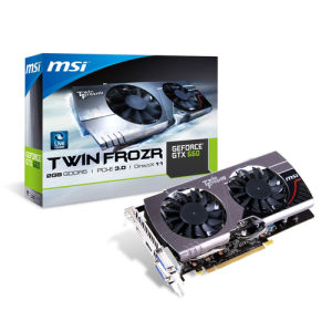 MSI GeForce GTX660 2GB (N660 TF 2GD5/OC)
