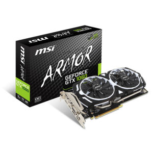 Msi geforce gtx 1060 armor 3gb ocv1