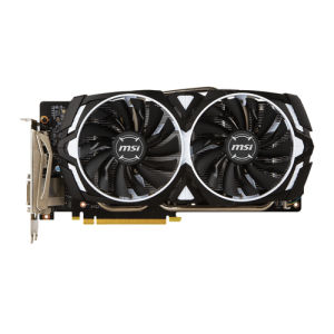Msi geforce gtx 1060 armor 6gb ocv1