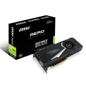 MSI GeForce GTX 1070 Aero 8GB OC